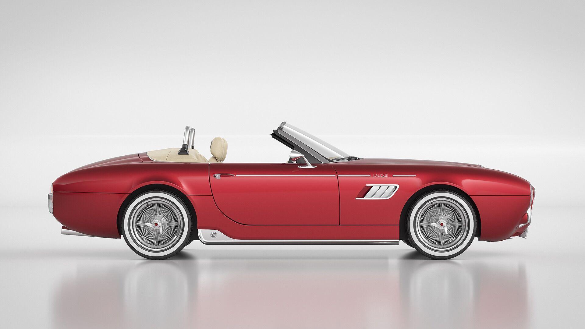 Автомобіль створений за участю знаменитої французької компанії Lalique