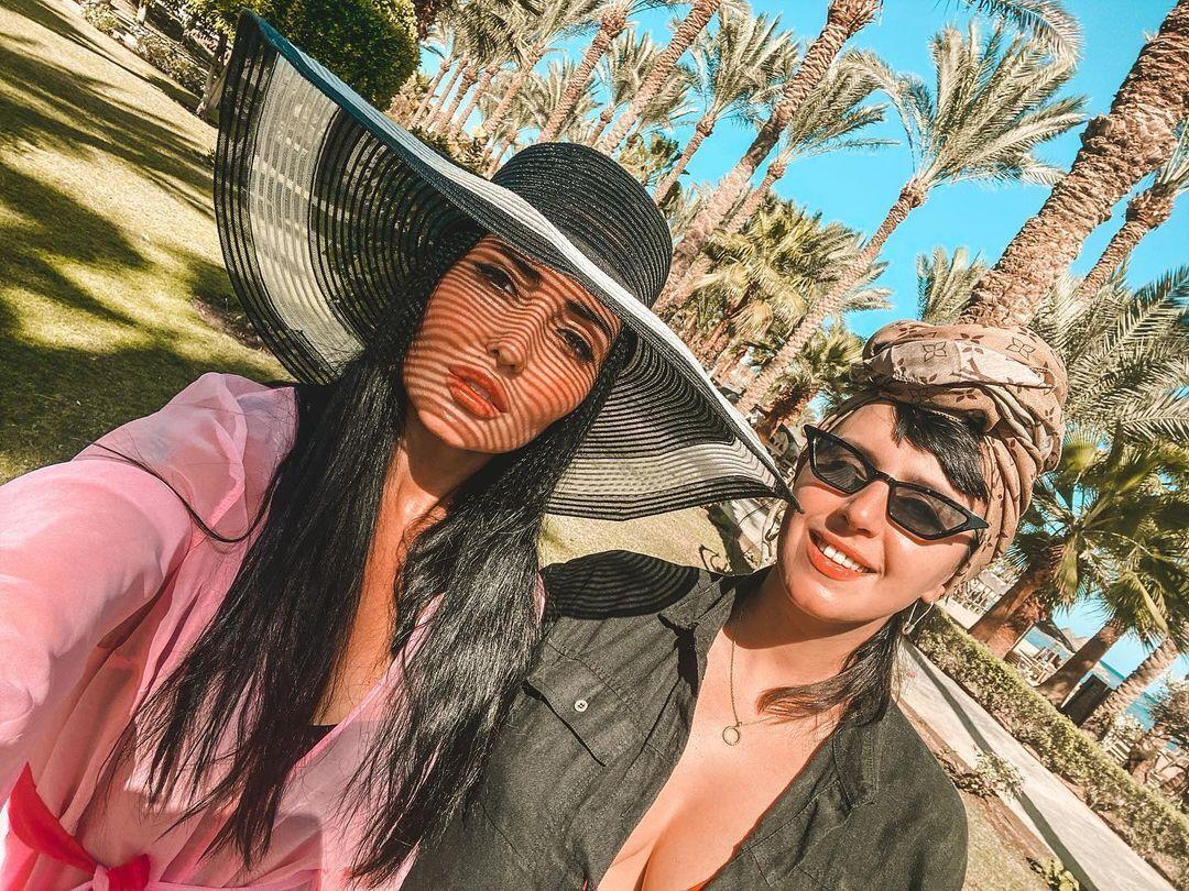 Анна Добриднєва в Єгипті з Джамалою.