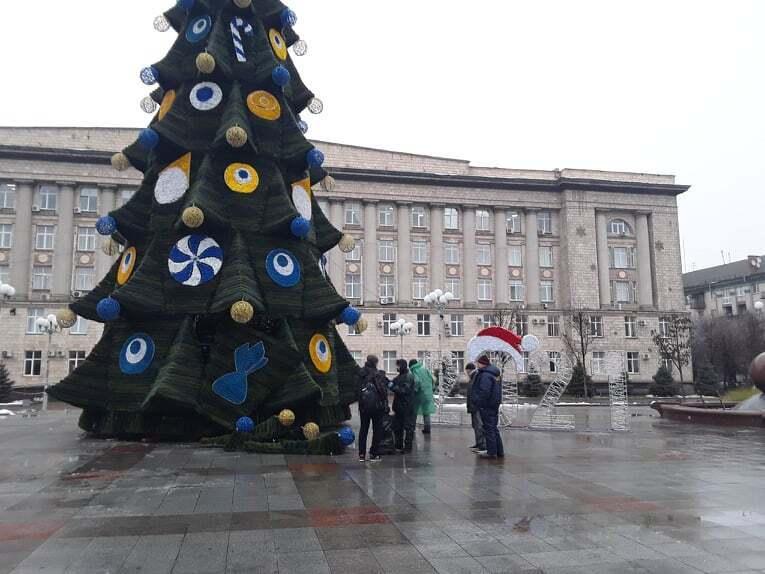 Главная елка в Черкассах