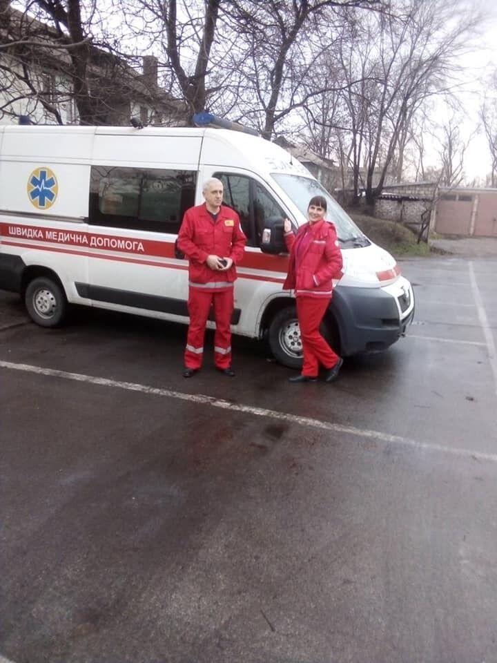 Медики скорой помощи в Каменском