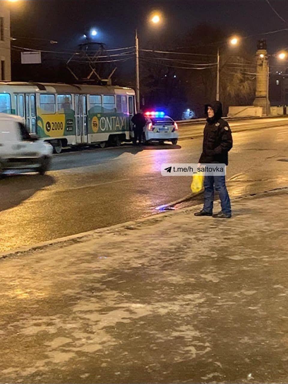 ДТП в Харькове с участием полиции.