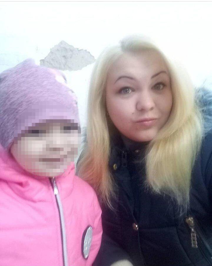 Валерія з донькою