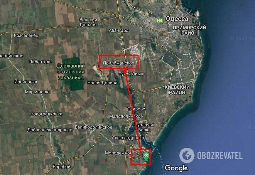 Дмитра викрали в Чорноморську, а викинули з машини біля села Прилиманського