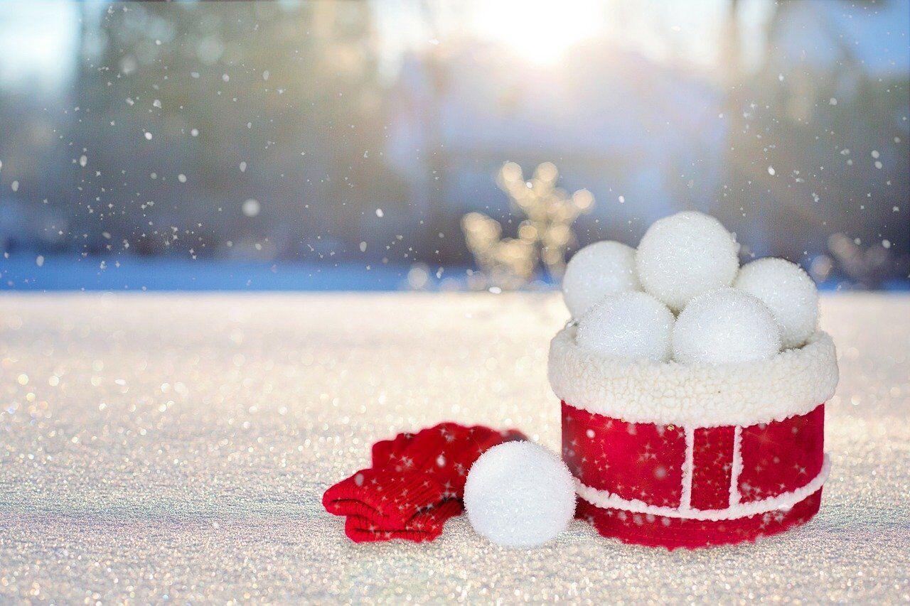 У конкурсі зі штучним сніжком беруть участь дві людини