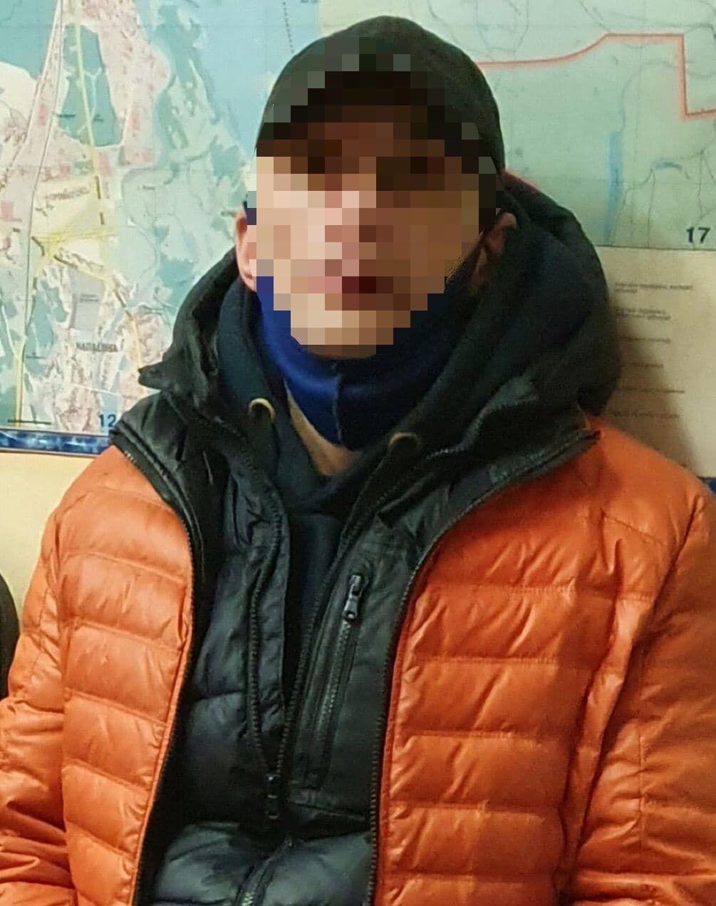 Поліція затримала підозрюваного у вбивстві в центрі Києва.