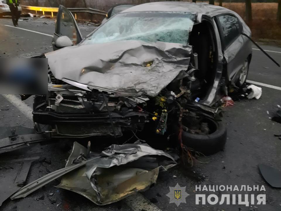 Cherry M11 столкнулся с Renault Megane