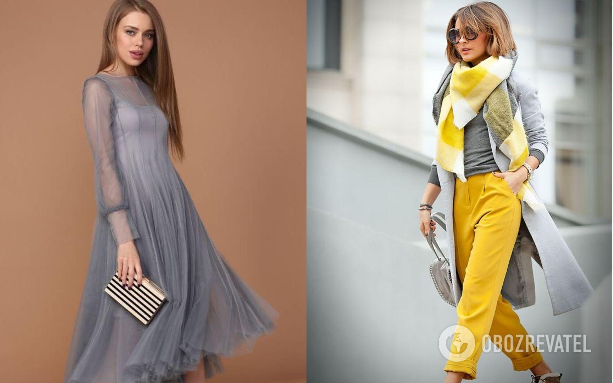 Праздничный образ в модных цветах 2021 года