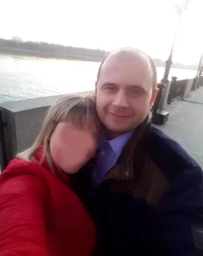 Александр Сазонов с любовницей