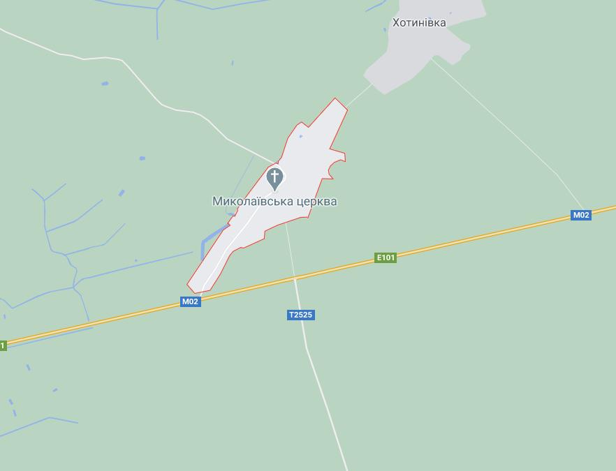 Авария случилась около сели Лихачев