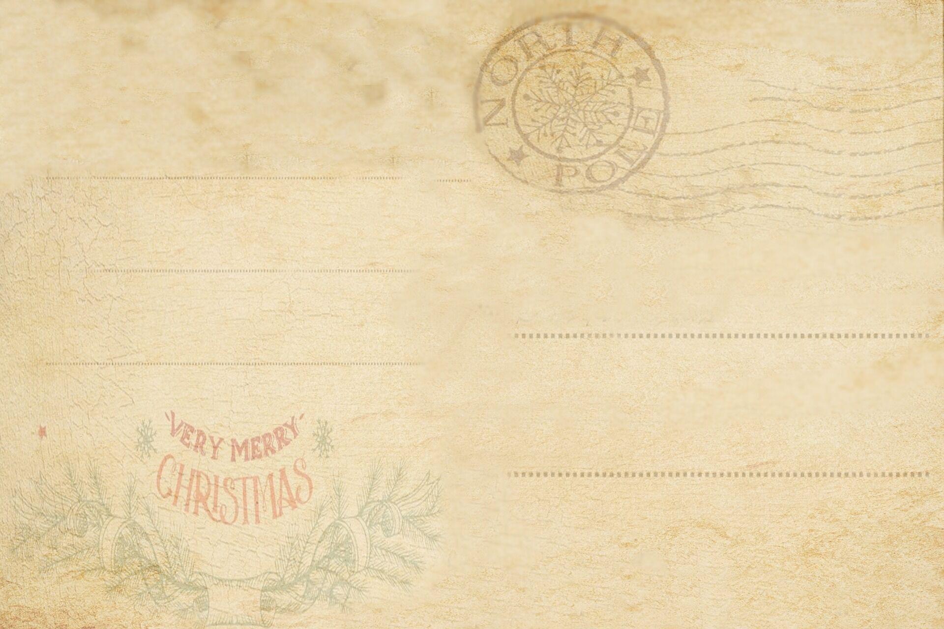 Конверт для письма від святого Миколая