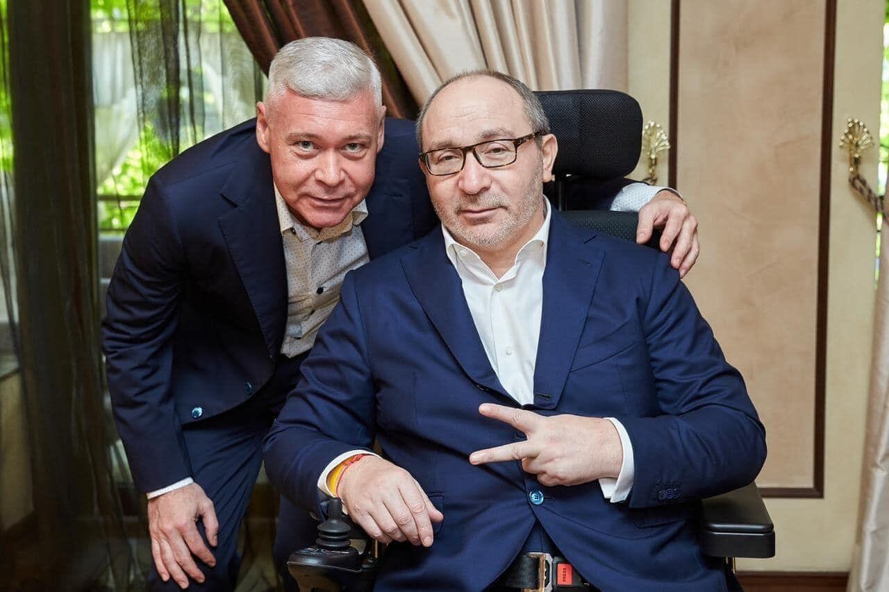 Игорь Терехов и Геннадий Кернес