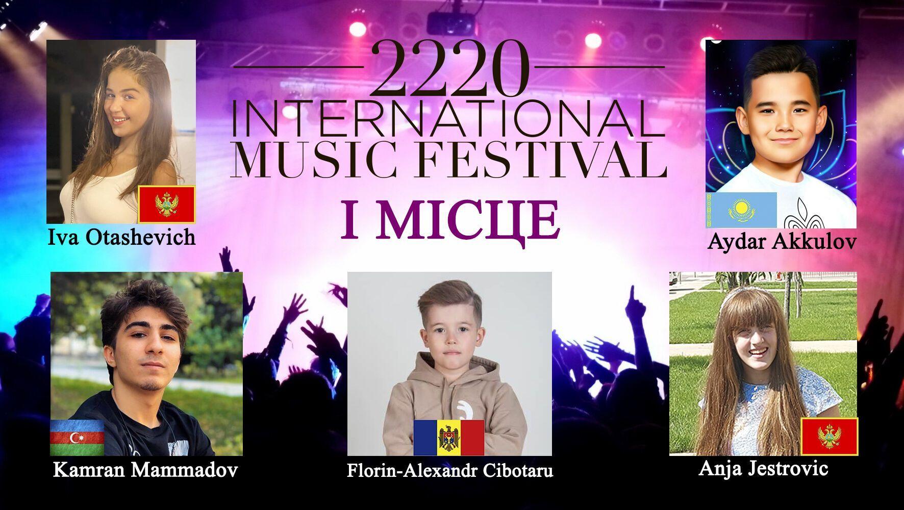 2220 International Music festival.