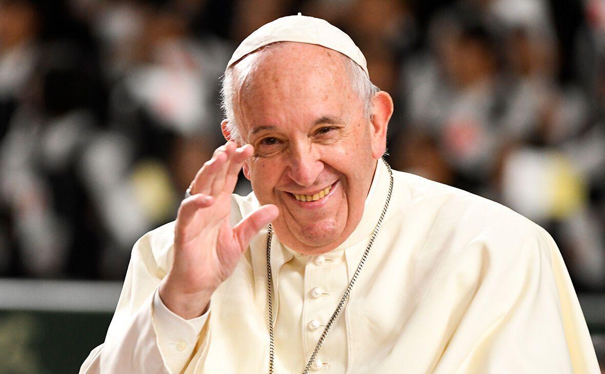 84-летний Папа Римский Франциск