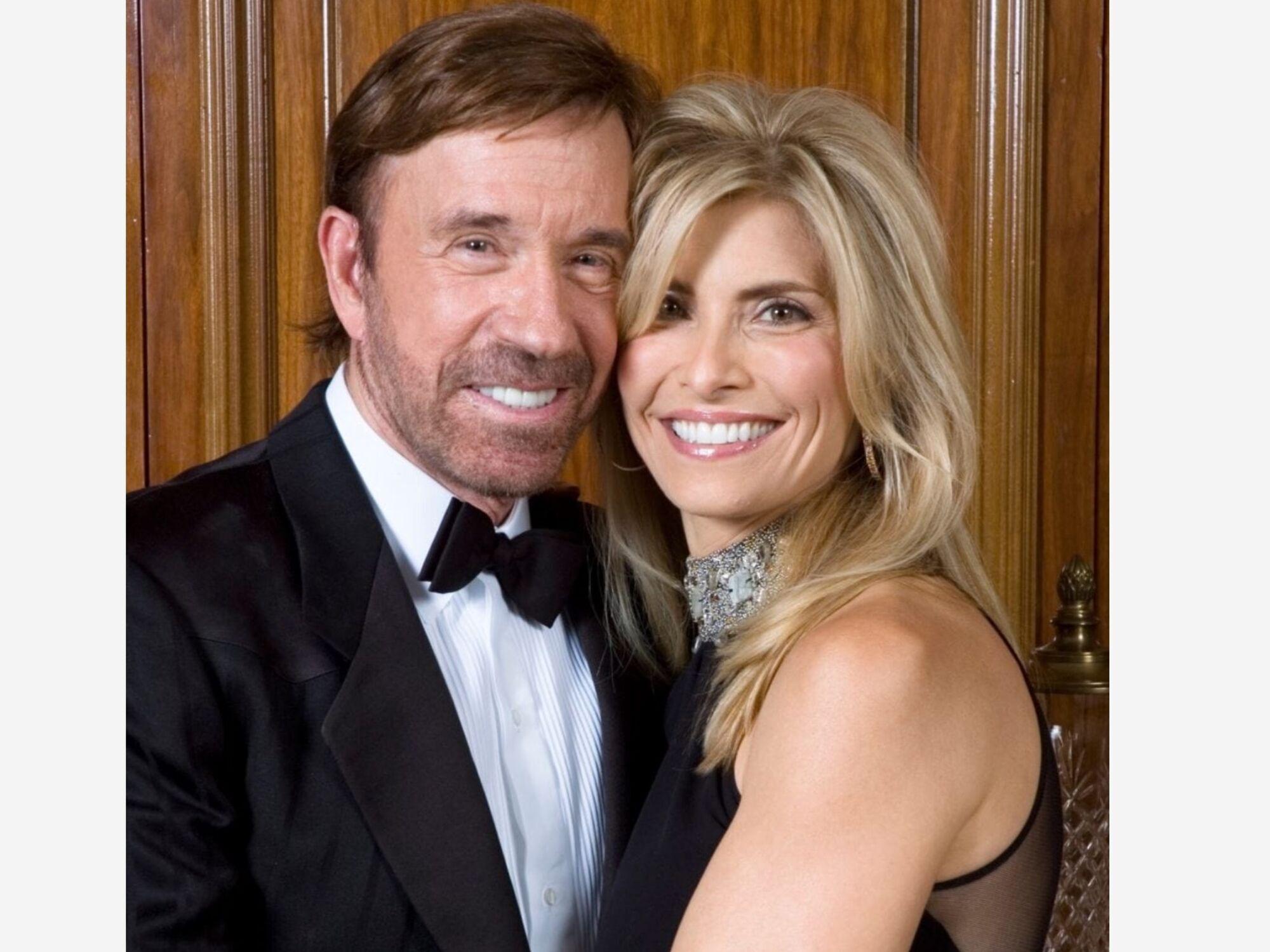 Чак Норріс із дружиною Дженні.
