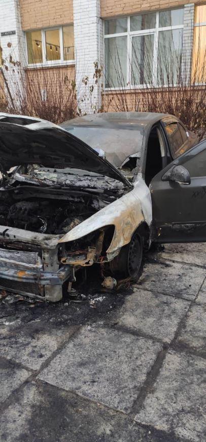 Машину підпалили у Львові