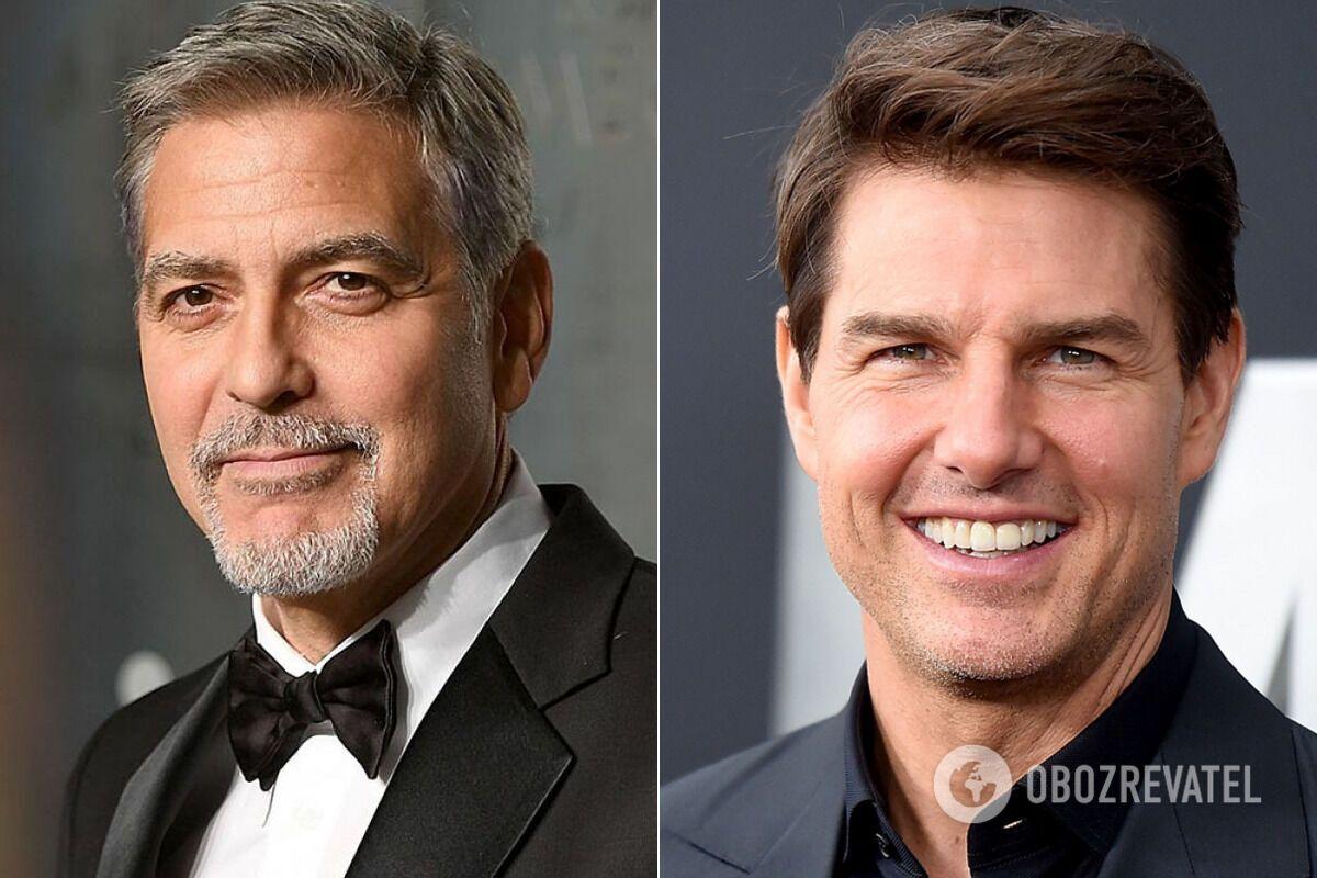 Джордж Клуни и Том Круз