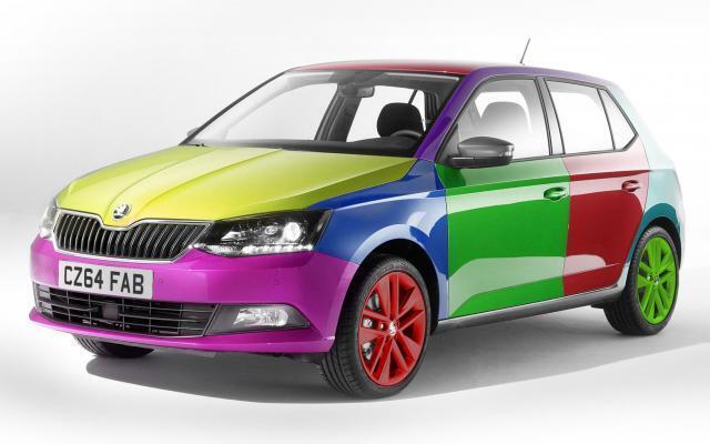 Автомобілі яскравих кольорів нині не в тренді