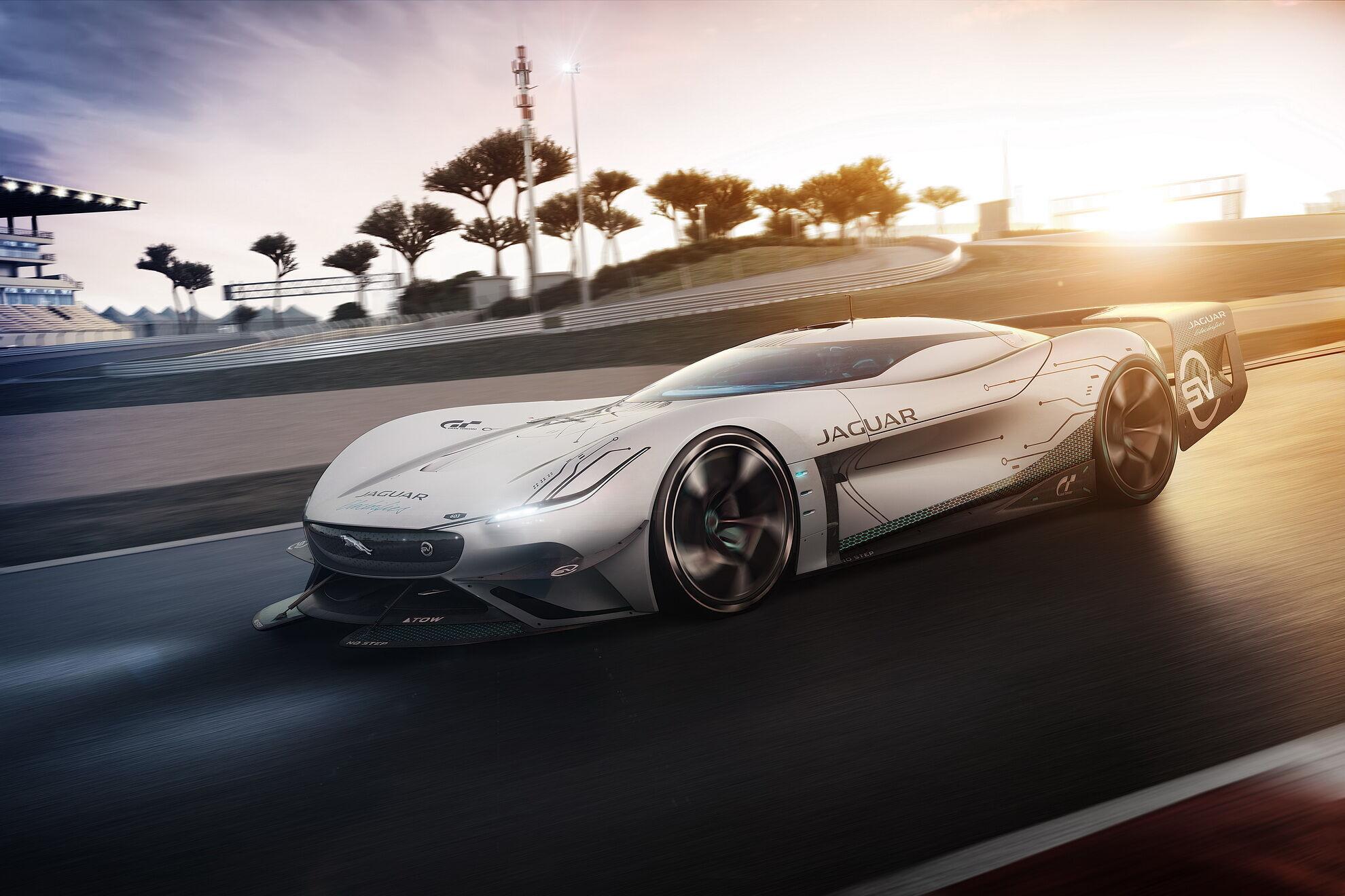 Vision GT SV снабдили четырьмя электромоторами – по каждому на колесо