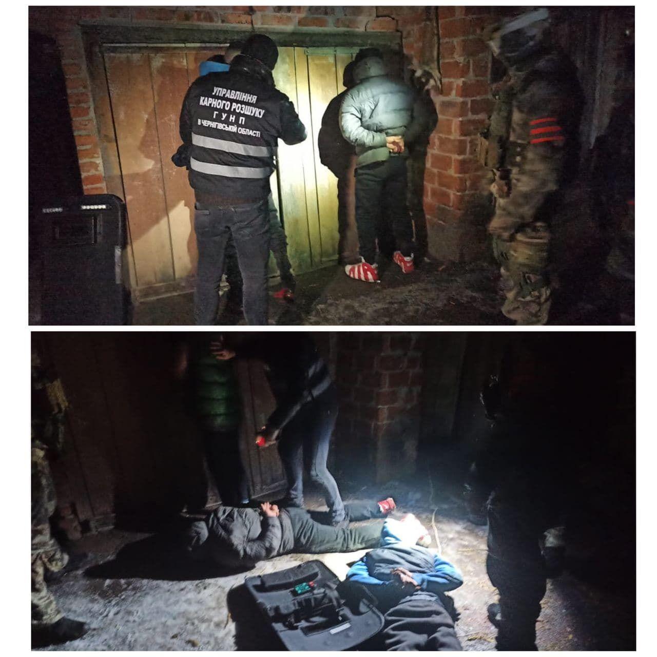 Підозрювані зізналися у скоєнні злочину