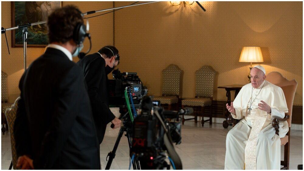 В киноленте примет участие Папа Римский Франциск
