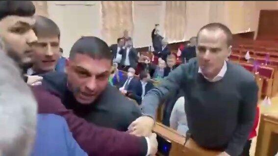 Бійка в облраді Одеси.
