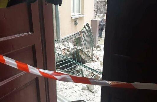 Вибух трапився у будинку на вулиці Ковалевського, 3