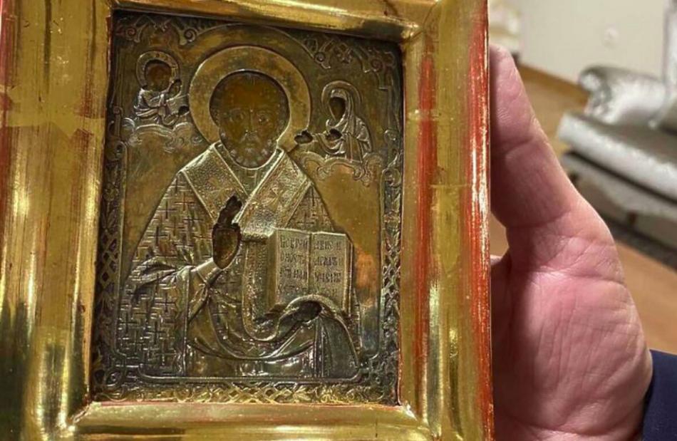 Ікона, ймовірно, вивезена з окупованого Луганська
