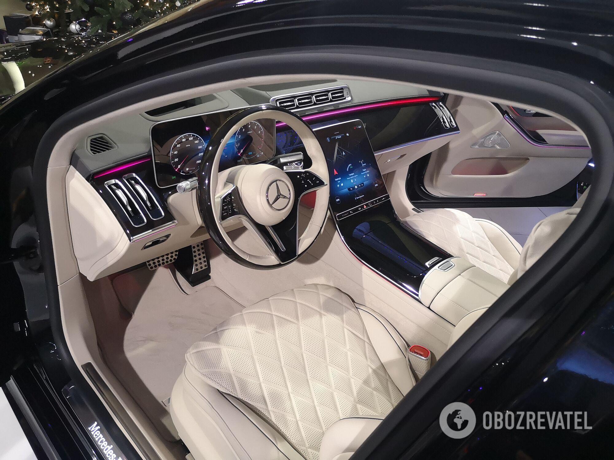 Mercedes-Benz S-Class представили в Украине