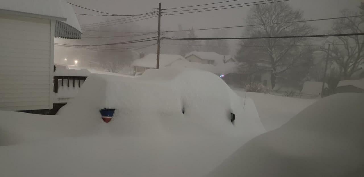 Снежные завалы