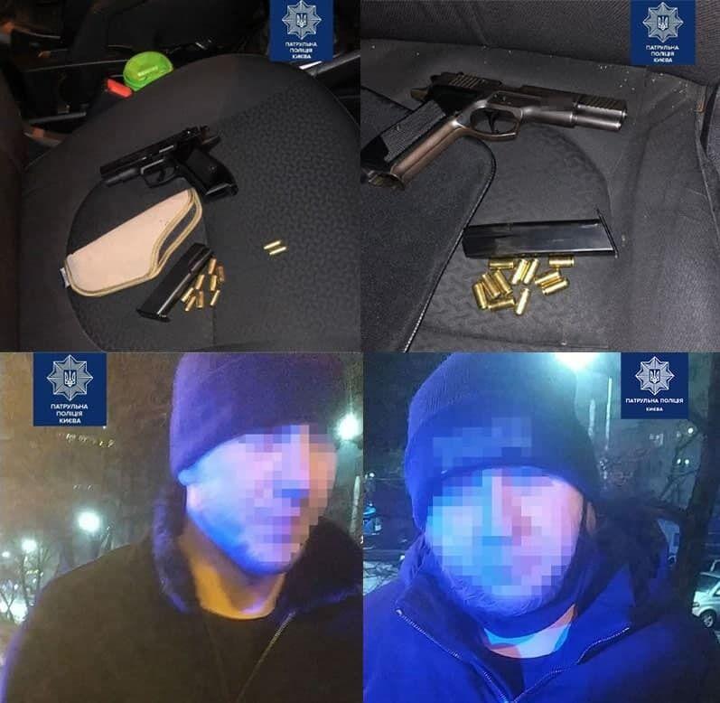 В Киеве задержали вероятных похитителей человека