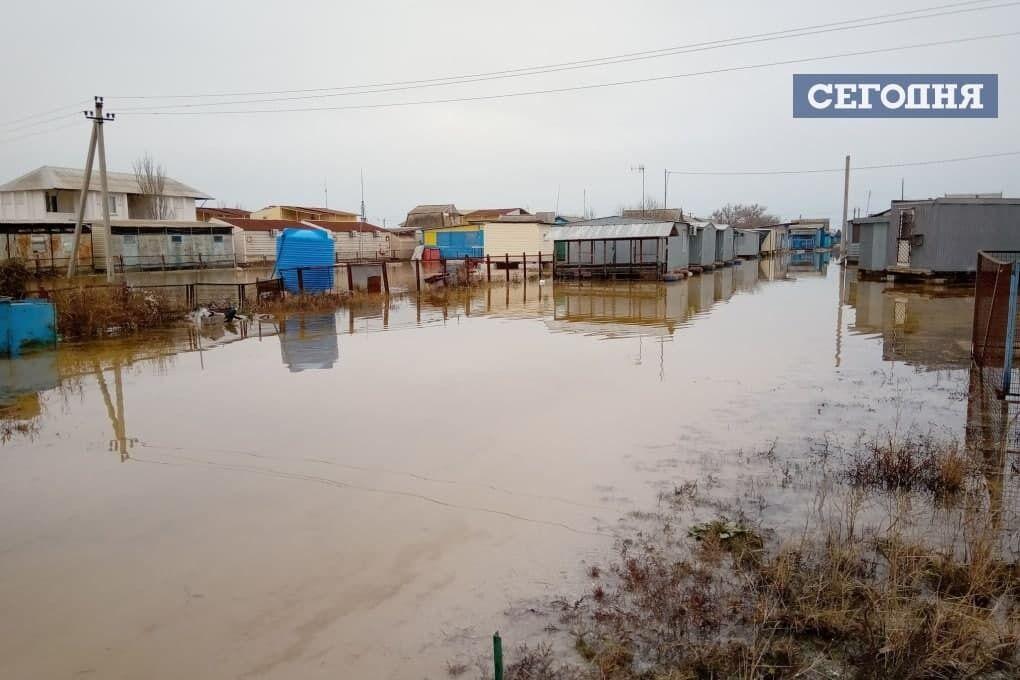 Кирилівку затопило