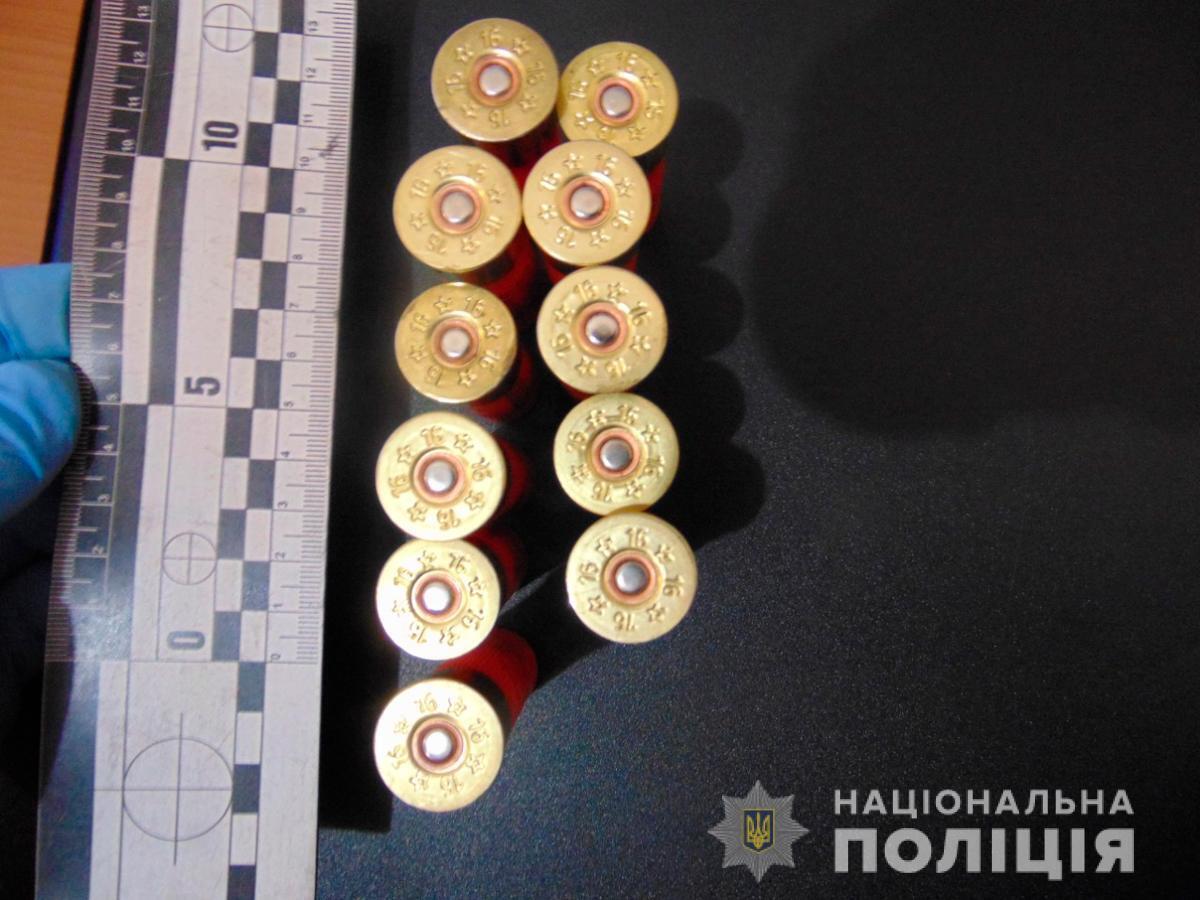 Полиция изъяла у охотника патроны