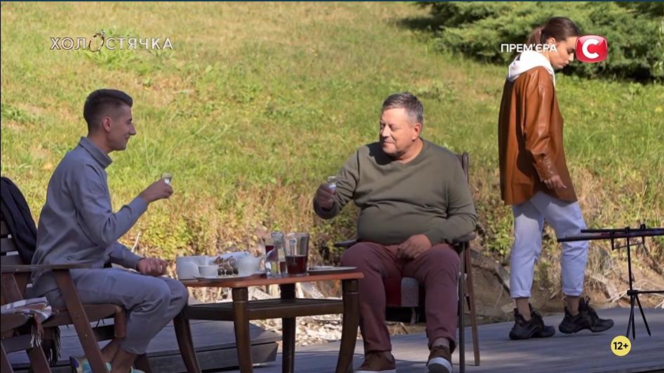Александр Эллерт с отцом Мишиной