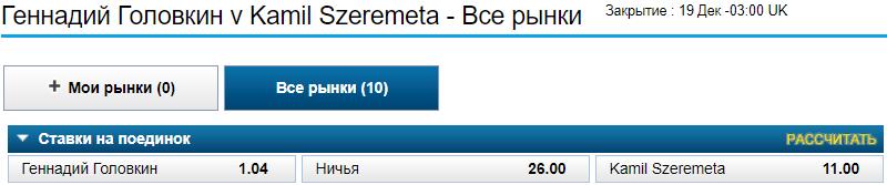 Головкін – Шеремета: прогноз на чемпіонський бій