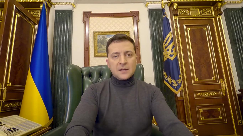 Кадр із відеоблогу Зеленського