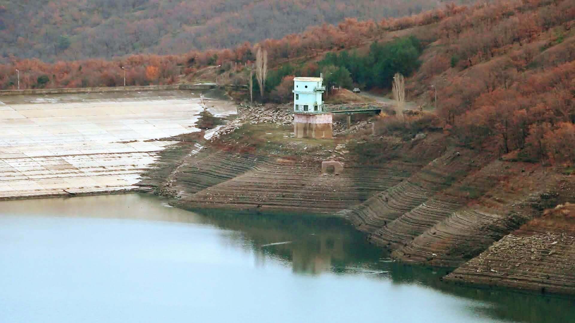 Ізобільненське водосховище.