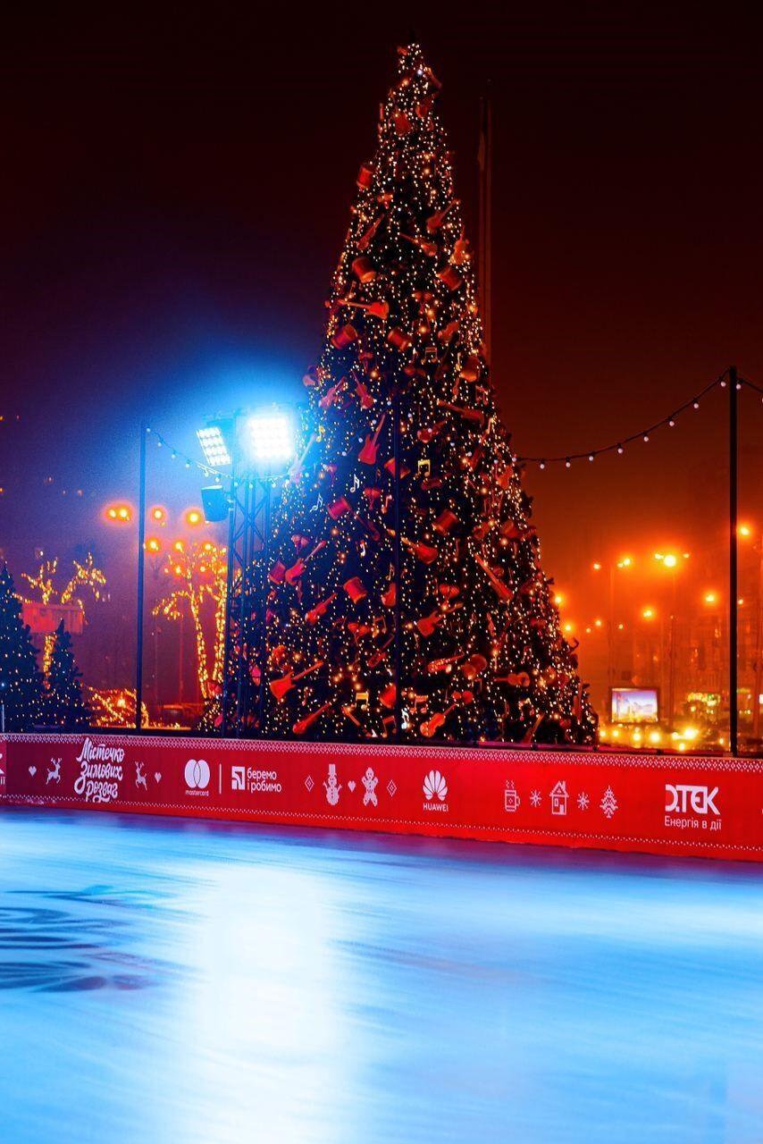 """""""Містечко зимових розваг"""" відкрили у центрі столиці"""