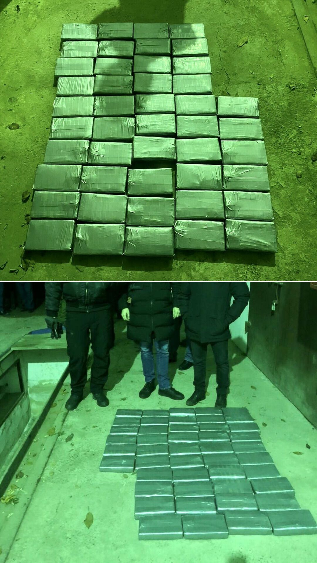 Наркотики были спрятаны в контейнерах с фруктами