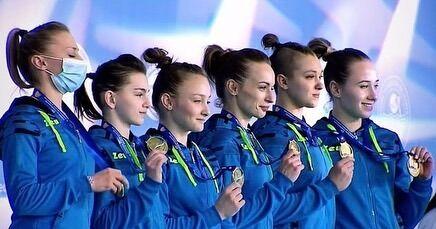 Збірна України зі спортивної гімнастики