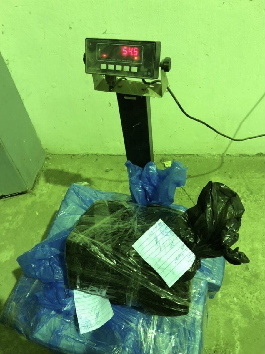 Вес изъятого кокаина достиг 54 кг