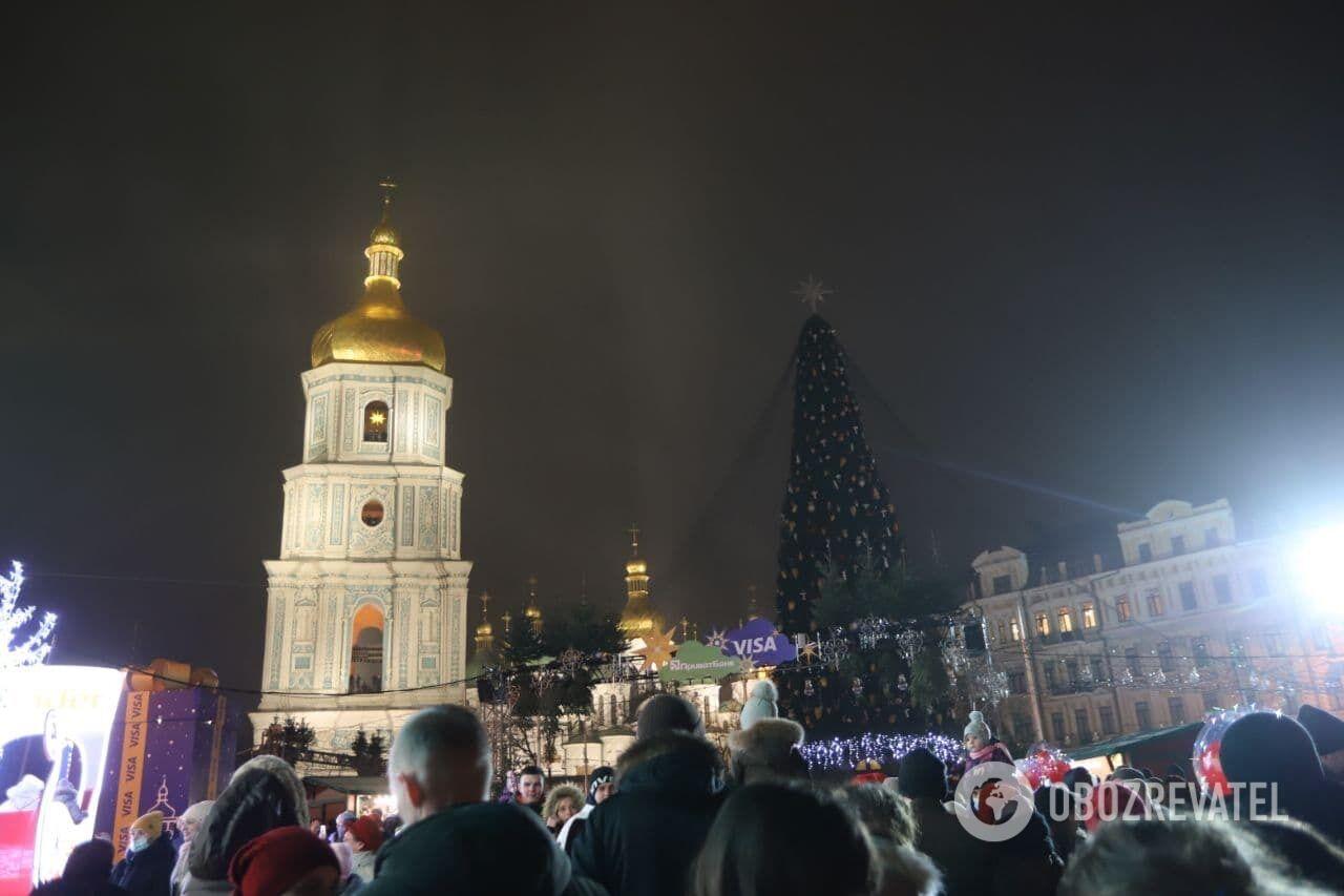 Відкриття у Києві головної ялинки
