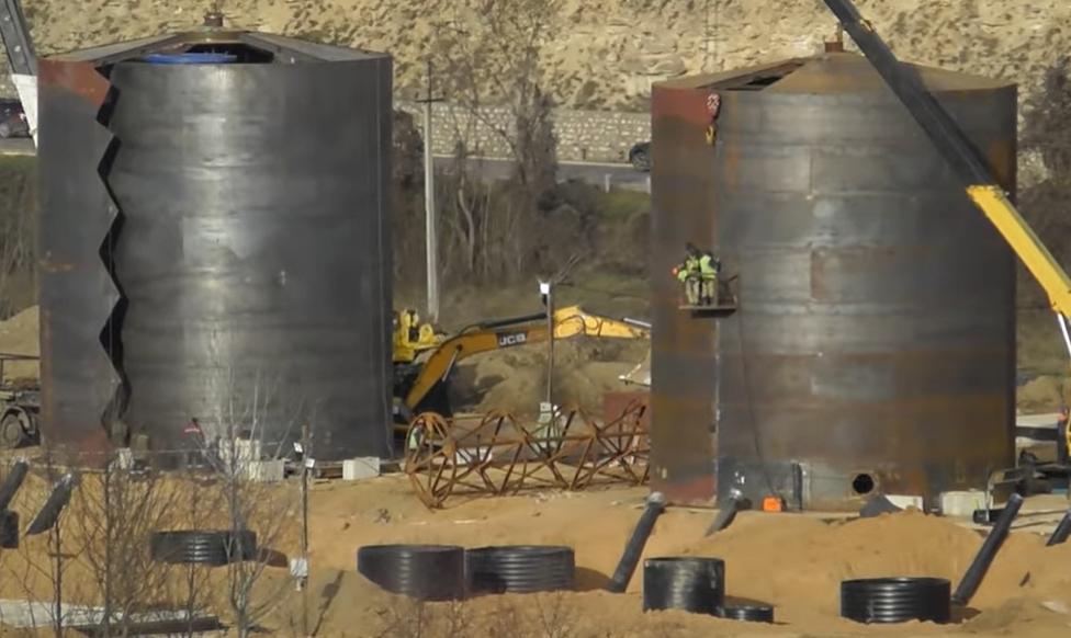 Строительство водозабора на реке Бельбек в Крыму