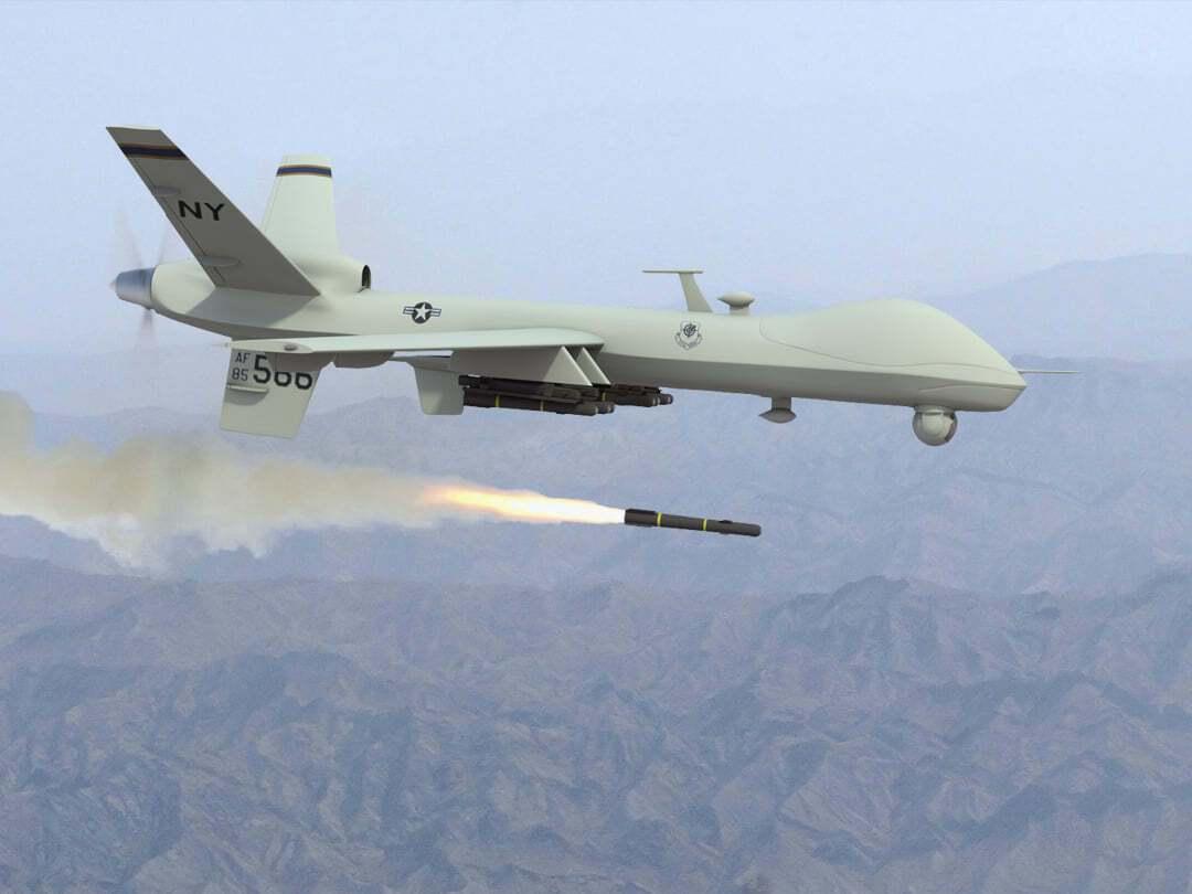 БПЛА MQ-9 Reaper ВС США