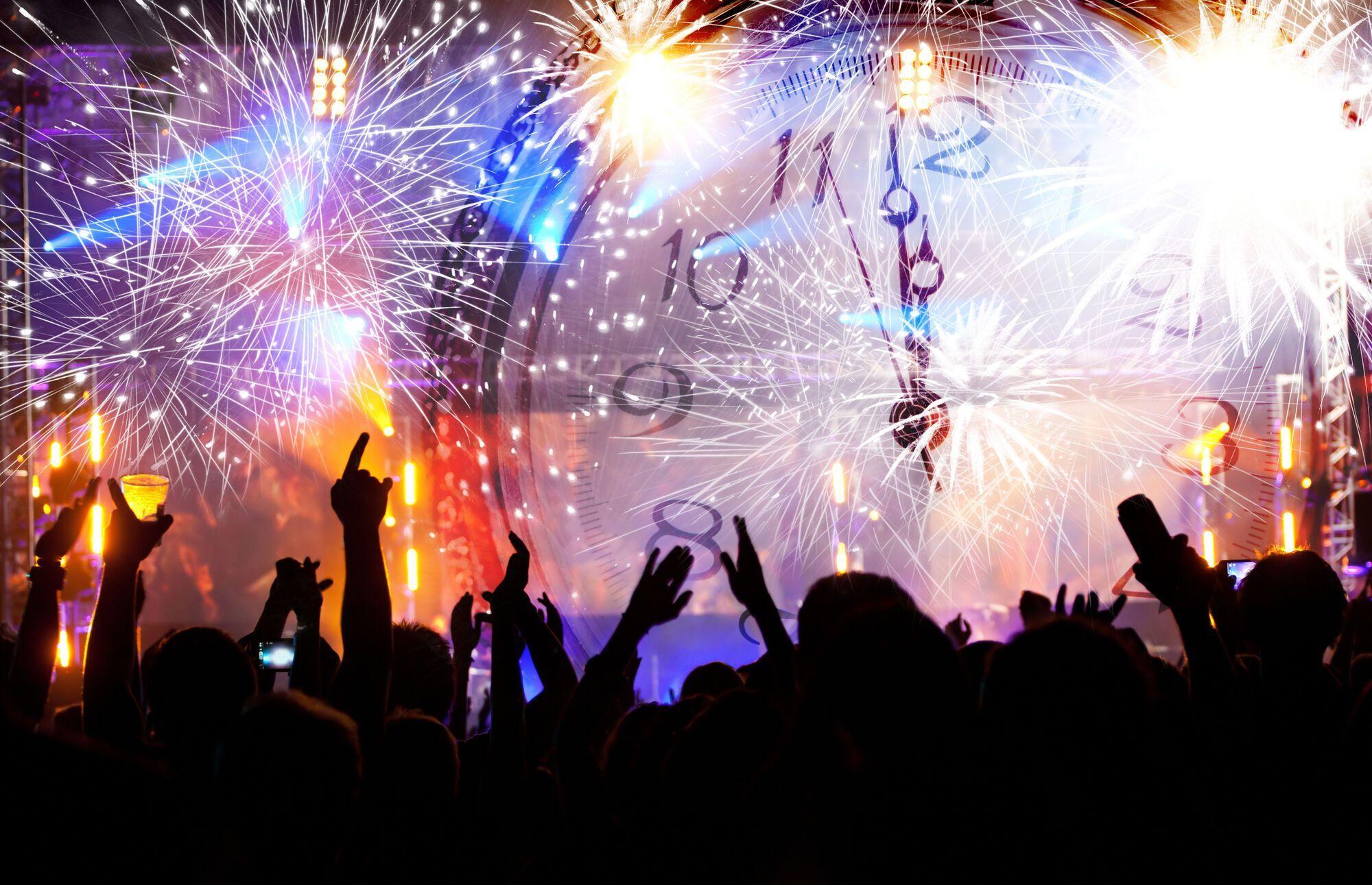 Концерт на Новий рік.