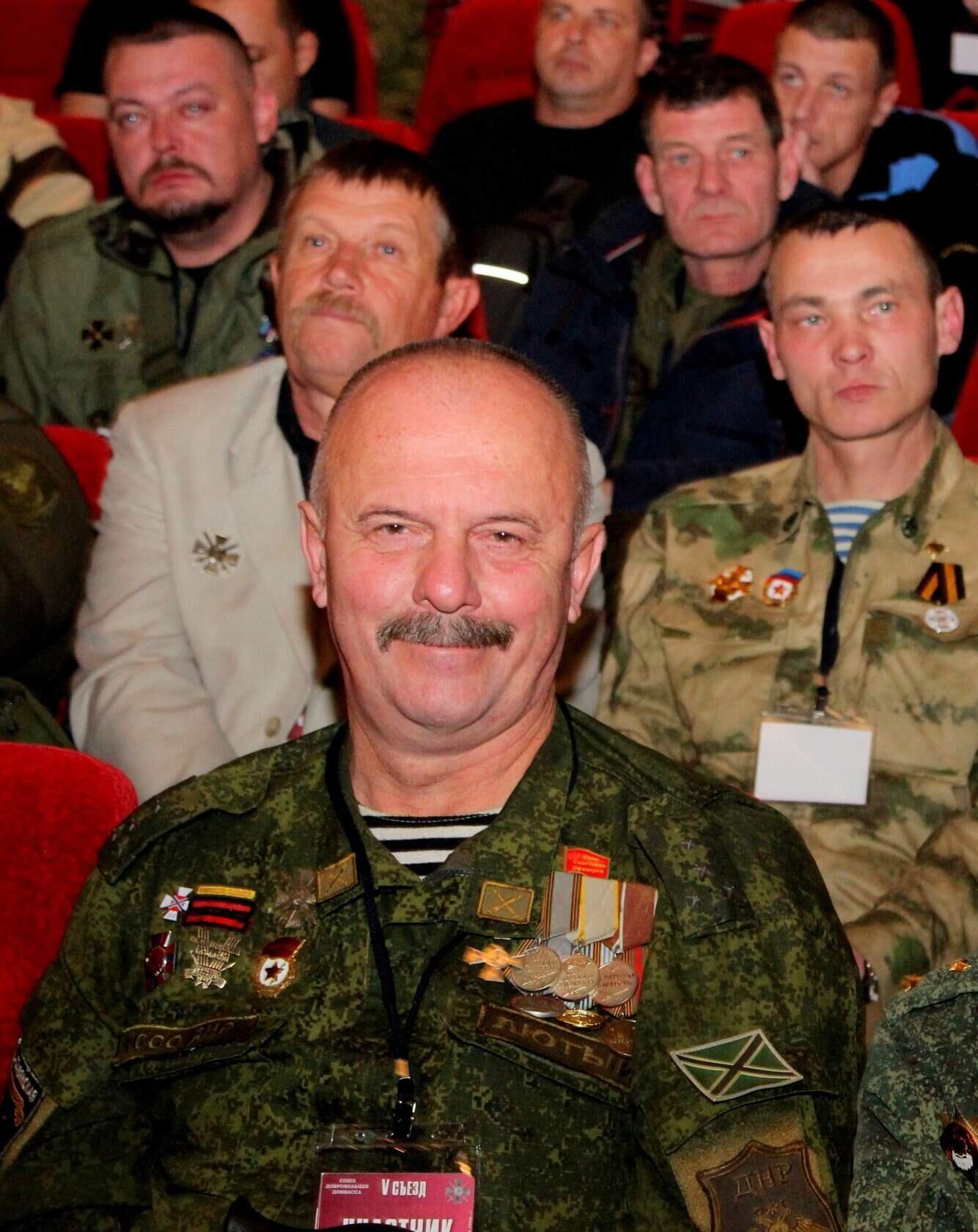 """Террорист на каком-то мероприятии """"ДНР"""""""