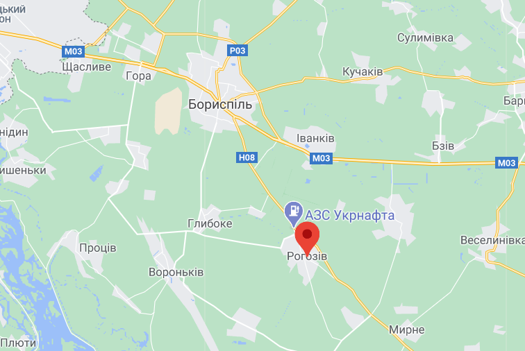 ДТП біля Борисполя сталася вранці