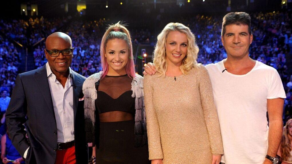 Бритни Спирс на шоу The X Factor