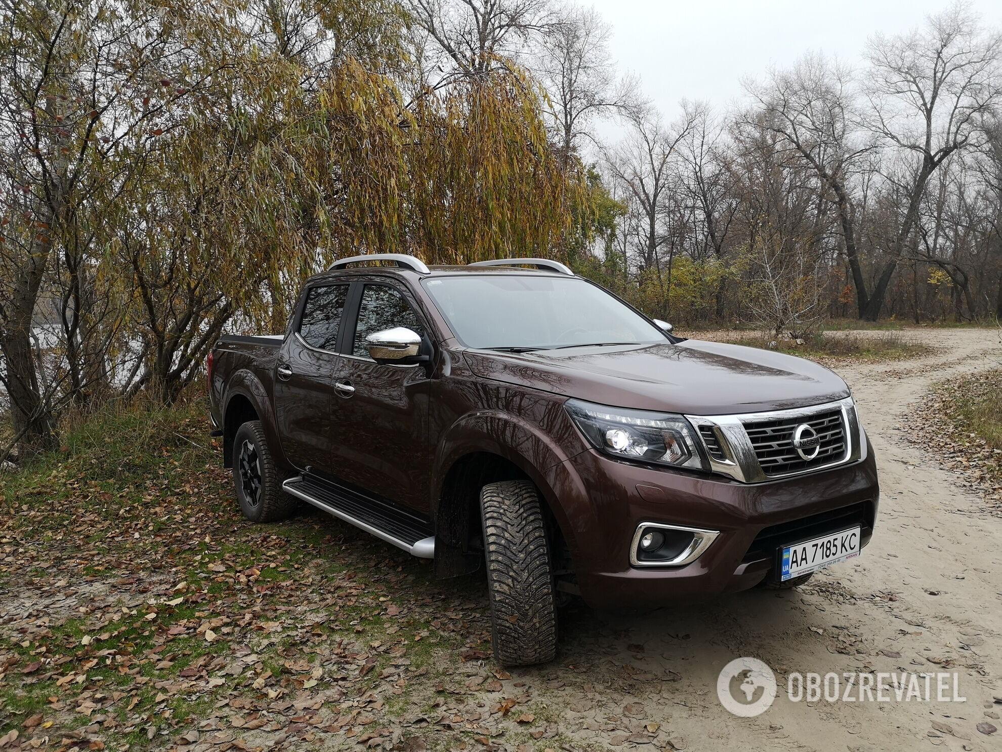 Nissan Navara предлагается в Украине в двух версиях мотора – 163 и 190-сильной