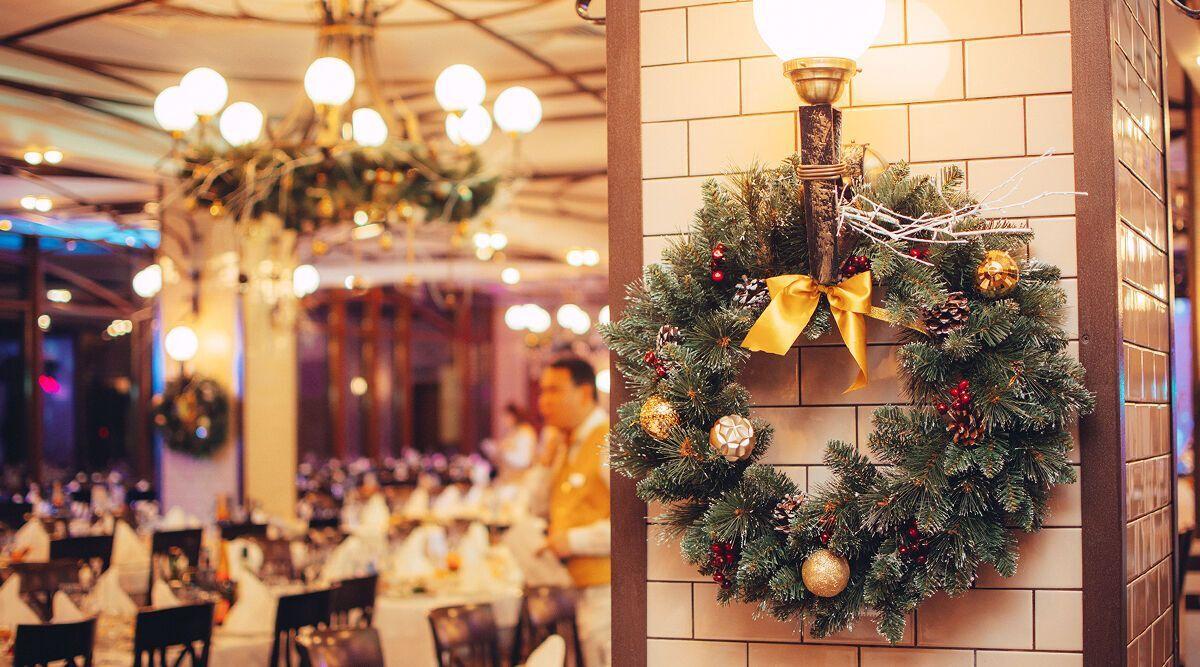 Ресторан на Новий рік.