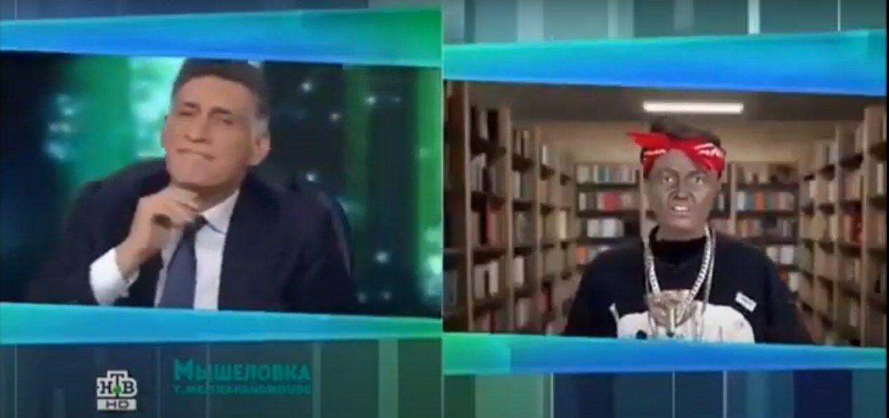 Пародия на НТВ на Обаму.